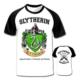 Camiseta Raglan Harry Potter Slytherin Sonserina Sly: Astuto