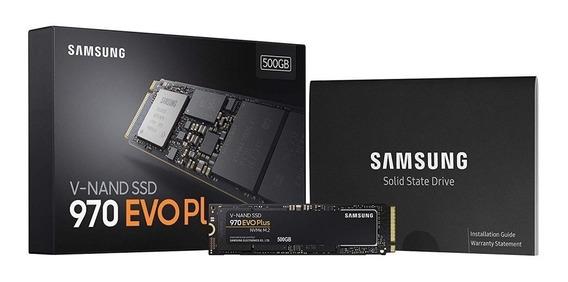 Hd Ssd Samsung V-nand 970 Evo Plus Nvme M.2 500gb