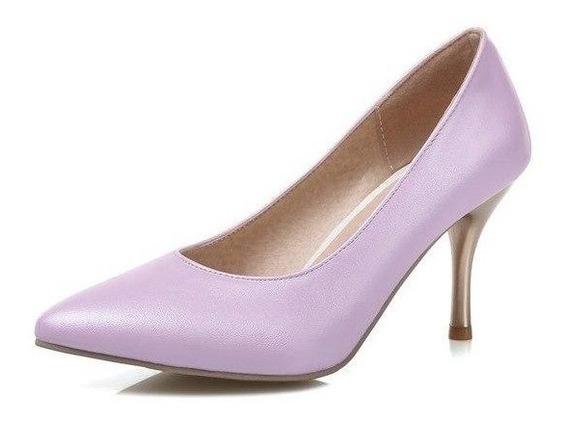 Sapato Feminino Asumer 27025 Importado Frete Grátis