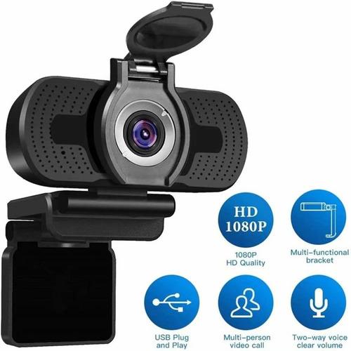 Webcam Full Hd 1080p Usb Com Tampa + Microfone