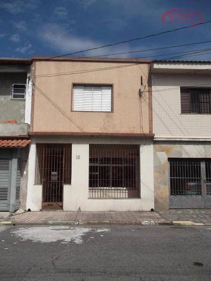 Sobrado Vila Maria Baixa 3 Dormitórios Rua Particular Com Vigilância. - So0168
