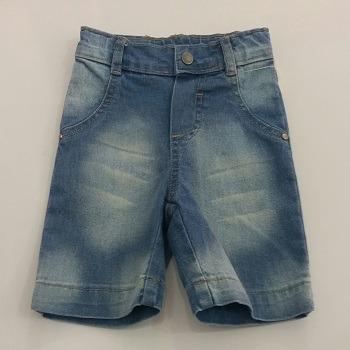 Bermuda Jeans Bebê Masculina Dindon