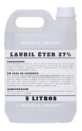 Lauril Eter 27% - Sulfato Sodio - Envio 24 Horas - 5 Litros