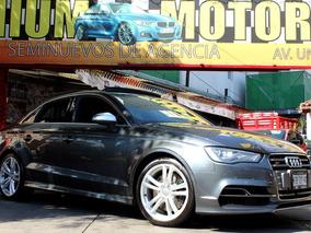 Audi //s3 Sedan 285hp// 2015 Seminuevo!! Piel Qc Gps!!