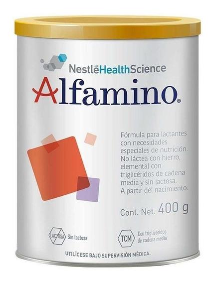 Fórmula para lactantes en polvo Nestlé Alfamino en lata de 400g