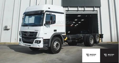 Mercedes-benz Atego 2425 Techo Elevado 6x2 Año 2021 - 0km!!!