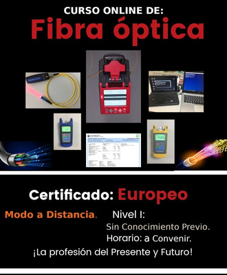 Curso De Fibra Óptica A Distancia (online)