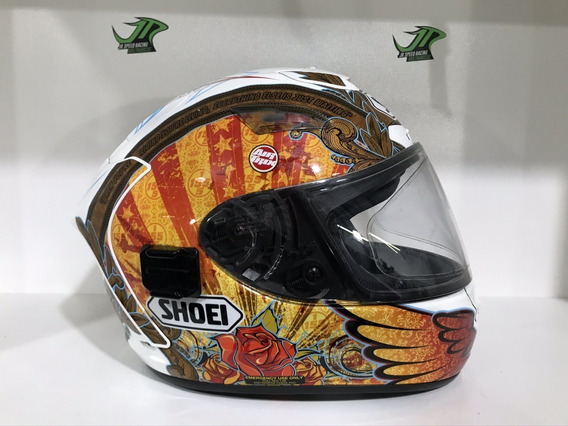 Capacete ShoeiX-spirit 2 B-boz Ben Bostrom