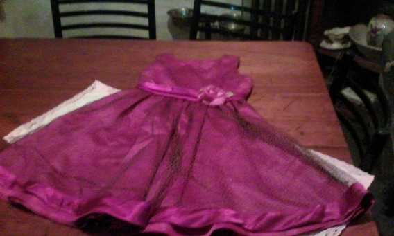 Vestido De Fiesta Nena Importado Talle 10l Oferta!!!