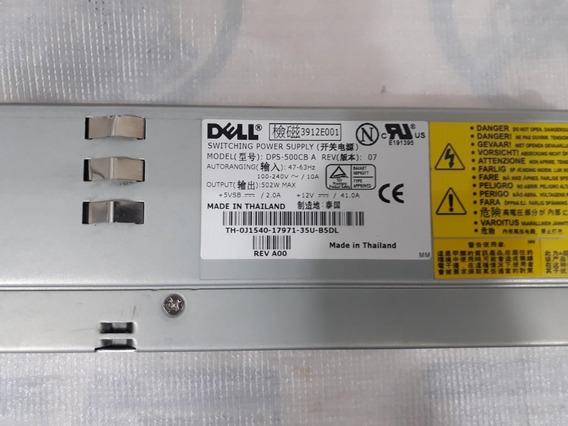 Fonte Dell 500w Poweredge 2650 Dps-500cb Ahd431 0h694 J1540