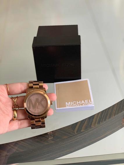 Relógio Michael Kors Rosê Original.