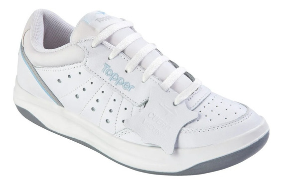 Zapatillas Topper Lady X Forcer Blanco/celeste