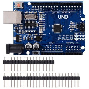 Arduino Uno + Cabo Usb + 10 Jumpers + 5 Leds + 5 Resistores