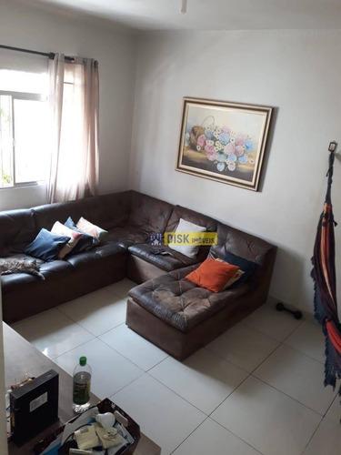 Imagem 1 de 11 de Apartamento Com 2 Dormitórios À Venda, 70 M² Por R$ 255.000 - Baeta Neves - São Bernardo Do Campo/sp - Ap2015
