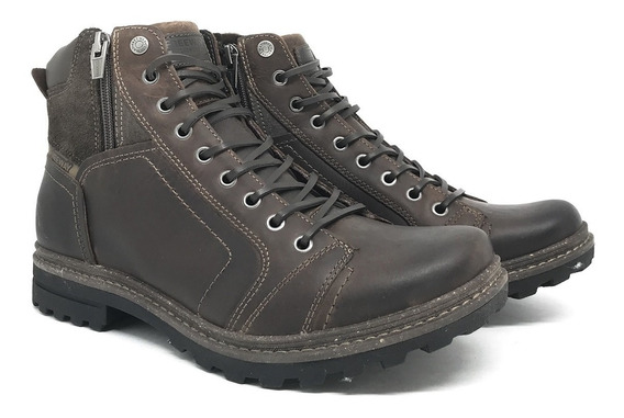 Bota Freeway Birman Couro Chocolate