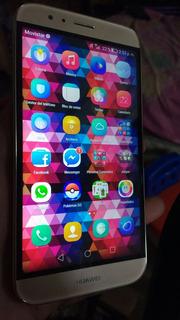 Huawei G8 Dorado Lector De Huella Libre De Fabrica