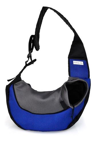 Bolsa Conforto Azul Para Cachorro Bichinho Chic - G
