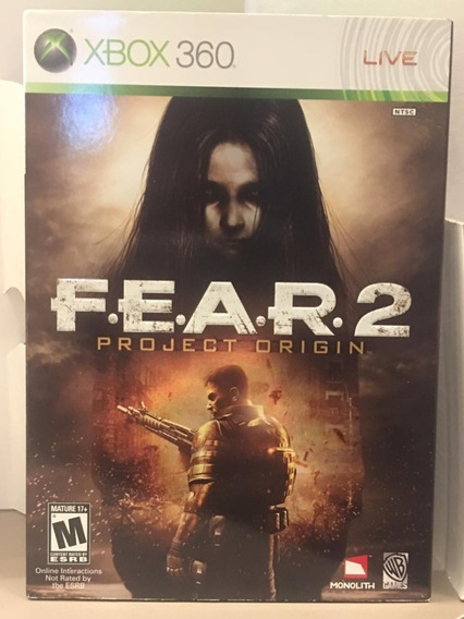 Fear 2 Project Origin - Xbox 360 Midia Fisica Usado