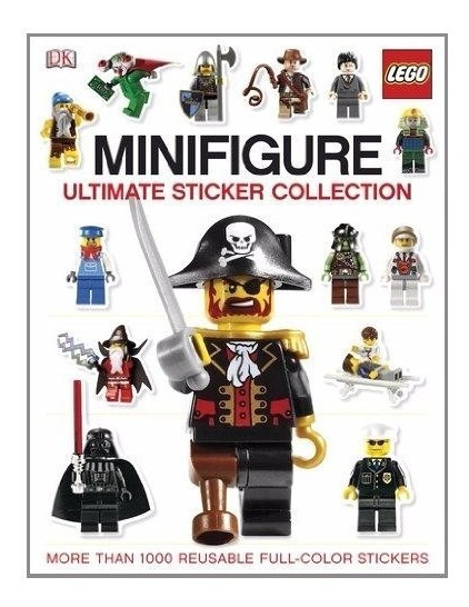 Livro Em Inglês - Lego Minifigure Ultimate Sticker
