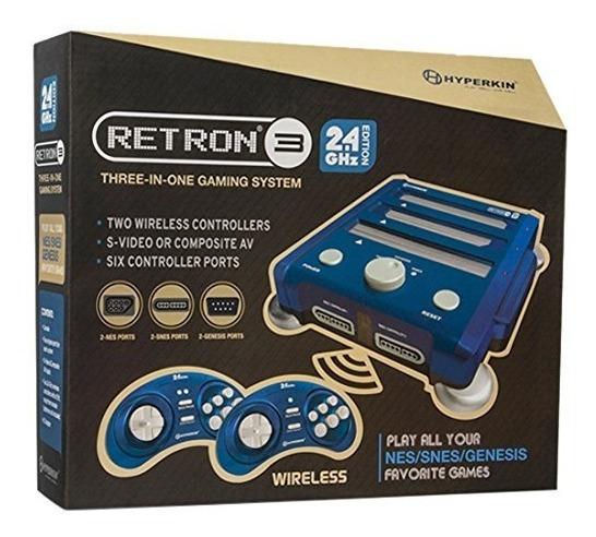 Hyperkin Retron 3 Del Sistema De Videojuegos De Nes / Snes