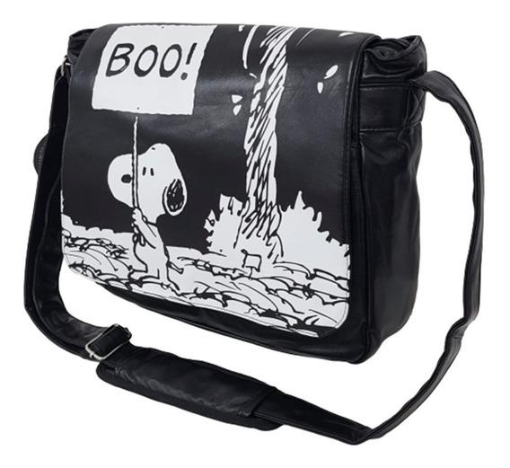 Oferta! Morral Bolso Snoopy Bootap - Cuero Pu 100% Original