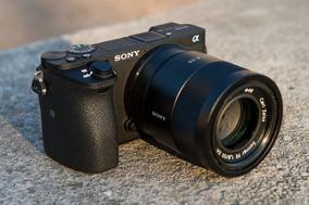 Câmera Sony Alpha + 2 Baterias + Cartão 64gb Extreme Pro 4k