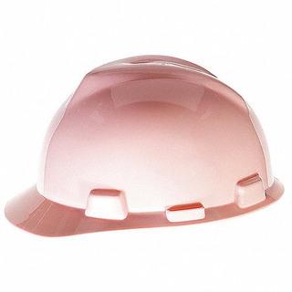 Casco De Seguridad Para Mujer Color Rosa Marca Msa