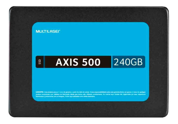 Ssd 240gb | Axis 500 Ss200 | Multilaser