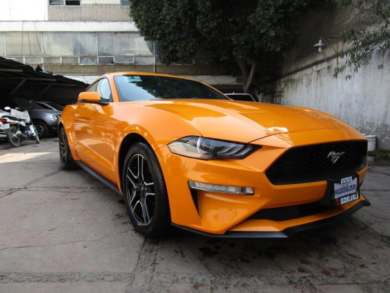 Ford Mustang 2p L4 Ecoboost,2.3t,ta,a/ac.,piel,gps,ra18