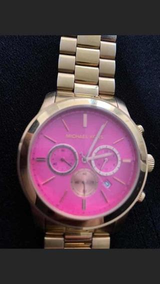 Relógio Michael Kors Rosa - Código 5931 Novo - Pouco Uso