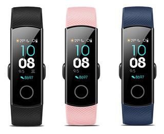 Relógio Huawei Honor Band 4 Preto, Azul Ou Rosa + Película