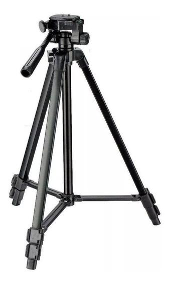 Tripé Profissiona Tr-450cs Cameras Nikon Canon 2.0kg 1,35m