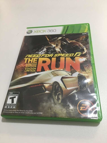 Need For Speed : The Run Xbox 360
