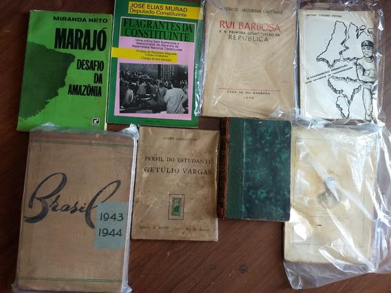 8 Livros Raros E Antigos Sobre Brasil, História Brasileira
