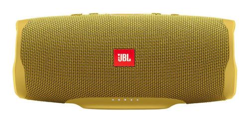 Parlante JBL Charge 4 portátil con bluetooth mustard yellow