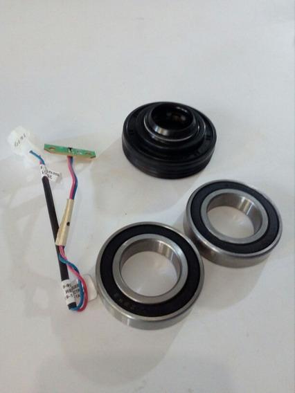 Sello Tina + 2 Baleros 6006 + Sensor De Peso Lavadora Mabe
