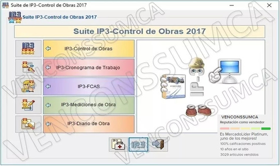 Ip3 V2017 Full Control Obra Bdd Del Mes Bs.s Actual