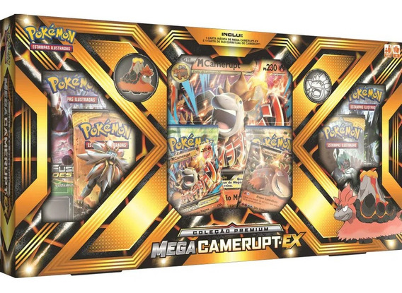 Box Premium Pokemon Trading Card Tcg Game Mega Camerupt Ex