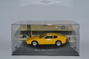 Miniatura Miura Sport 1977 1:43 Carros Inesquecíveis Cib