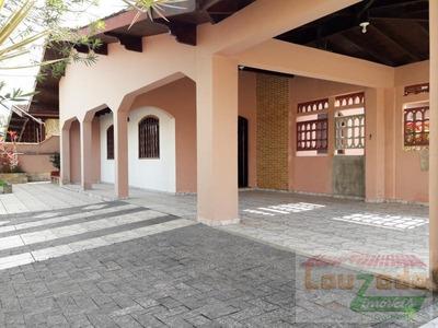 Casa Para Locação Em Peruíbe, Parque Turistico, 2 Dormitórios, 1 Suíte, 5 Banheiros, 4 Vagas - 1902