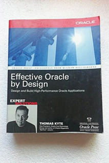 Libro Effective Oracle By Design
