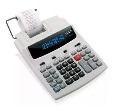Calculadora Elginvisor Bobina De Mesa Mr 6124 Bivolt