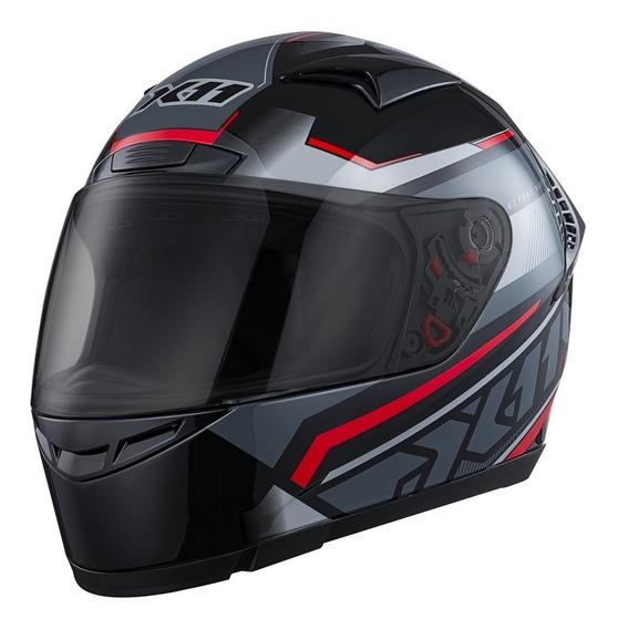 Capacete Moto Motoqueiro X11 Volt Lines Dash Motociclista