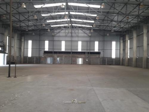 Imagem 1 de 15 de Galpão Industrial Zona Ee2 À Venda Em Atibaia - Ga0040-1