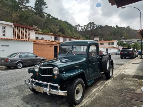 Jeep Willys Pick Up Mexicana