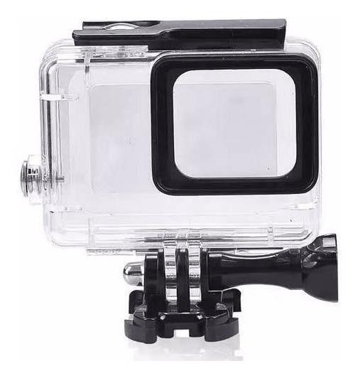 Caixa Estanque Protetora Prova D Água Gopro Hero 5 6 7 Black