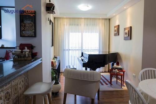 Apartamento Com 3 Dormitórios À Venda, 85 M² Por R$ 585.000,00 - Bosque Dos Eucaliptos - São José Dos Campos/sp - Ap7294