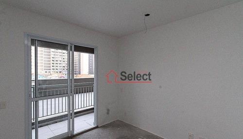 Apartamento Stúdio De 1 Dormitório, 1 Banheiro E Sacada À Venda No Tatuapé - St0111