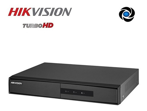 Dvr Seguridad 8ch Hikvision P2p Hdmi Hd Tvi Cctv 1080p Audio Bnc