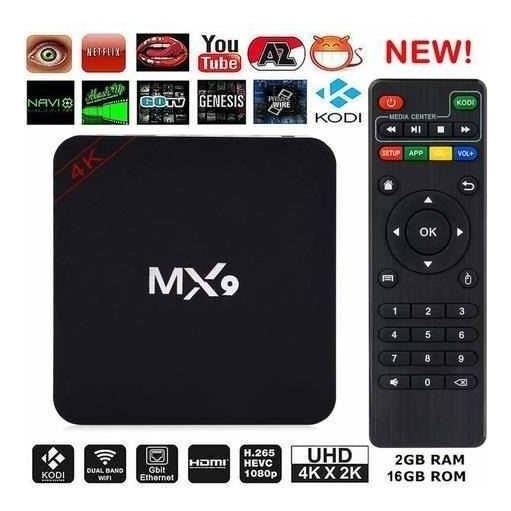 Tv Box 4k Hdmi Saida Av Tv De Tubo
